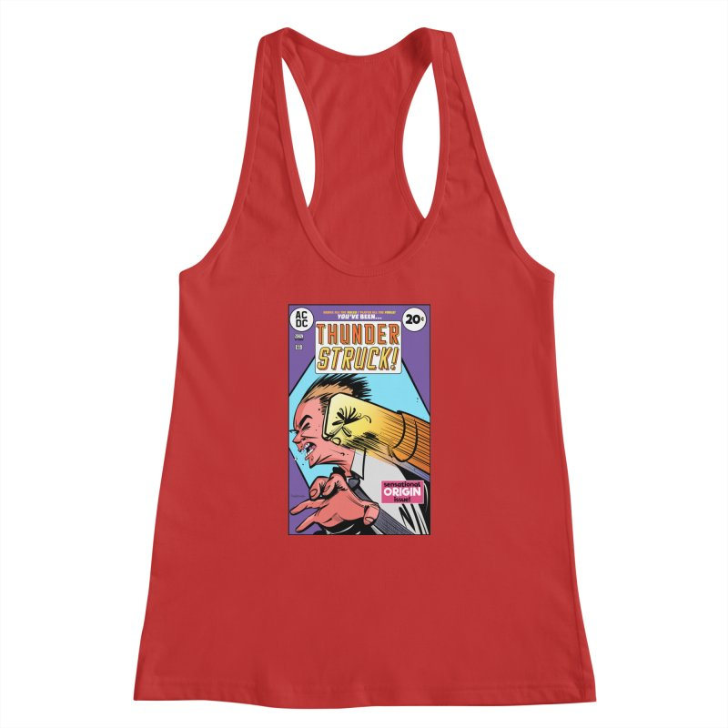 Thunder struck! Women's Racerback Tank by Krishna Designs