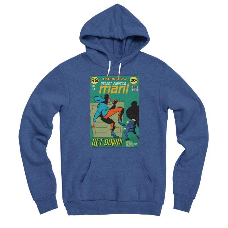 Street Fighting Man Women's Pullover Hoody by Krishna Designs