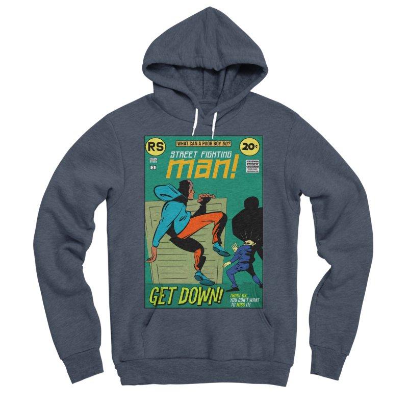 Street Fighting Man Women's Sponge Fleece Pullover Hoody by Krishna Designs