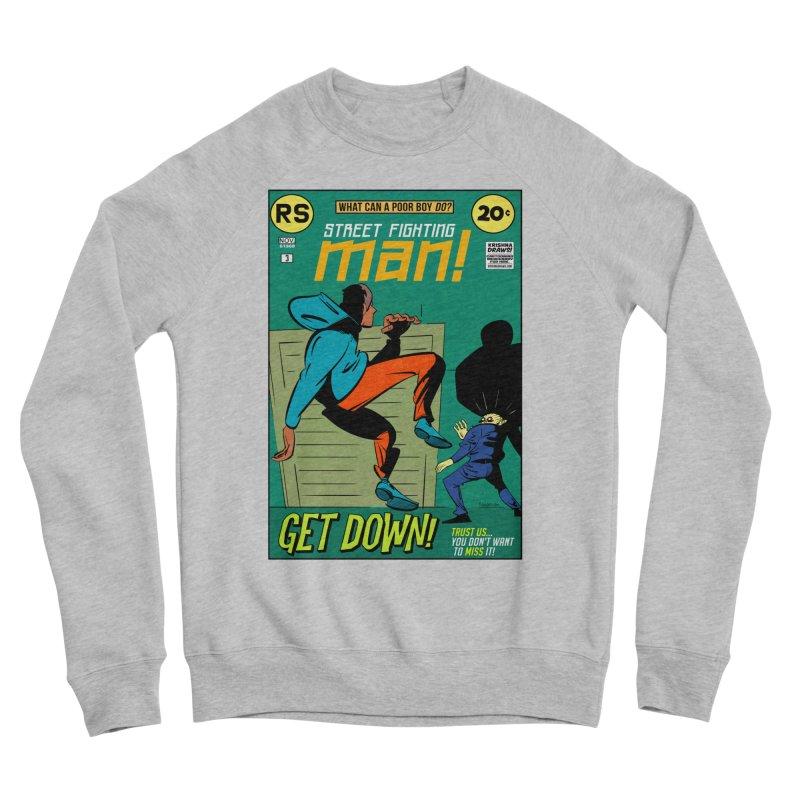 Street Fighting Man Men's Sponge Fleece Sweatshirt by Krishna Designs