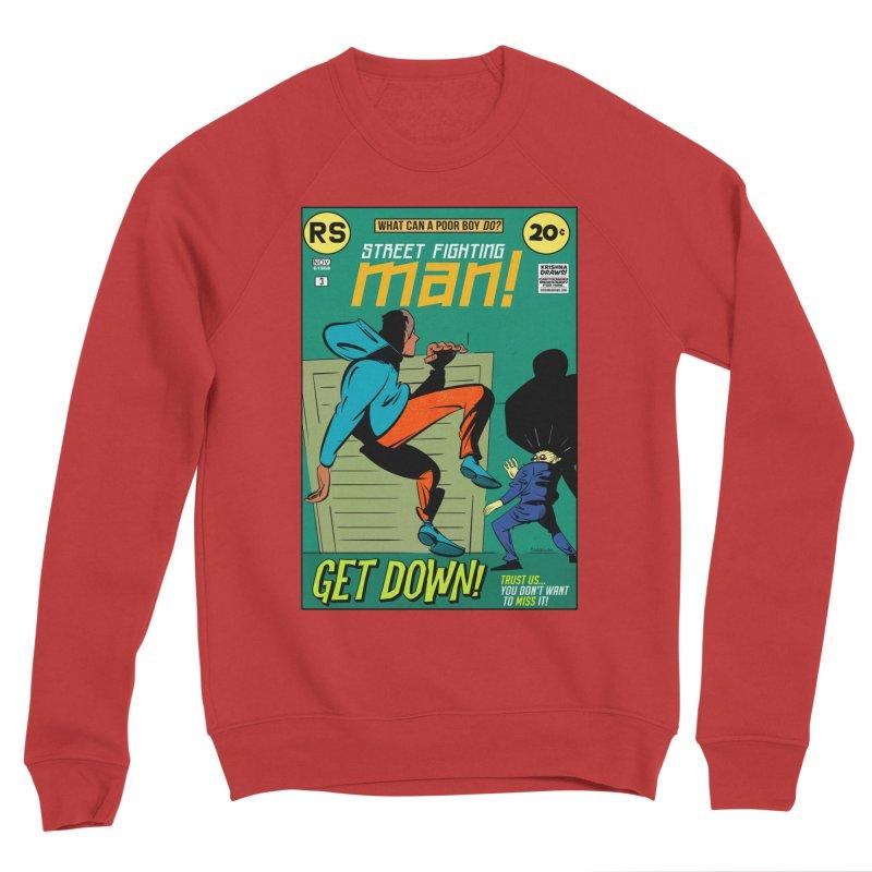 Street Fighting Man Women's Sponge Fleece Sweatshirt by Krishna Designs