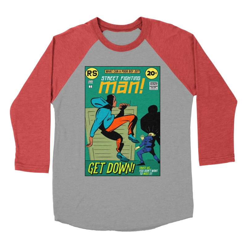 Street Fighting Man Men's Longsleeve T-Shirt by Krishna Designs