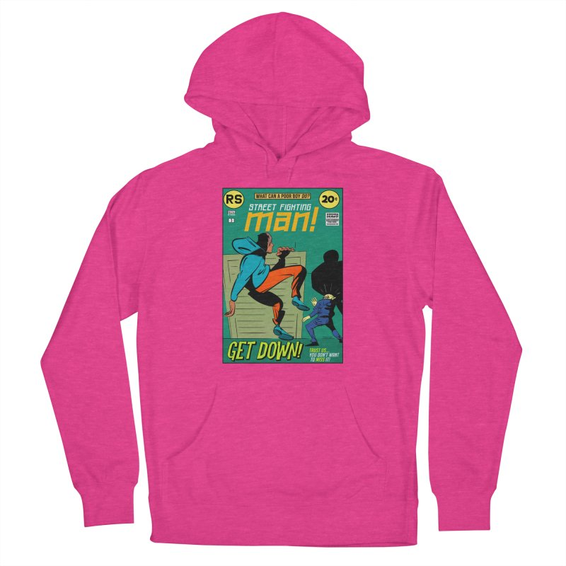 Street Fighting Man Women's Pullover Hoody by Krishna Designs
