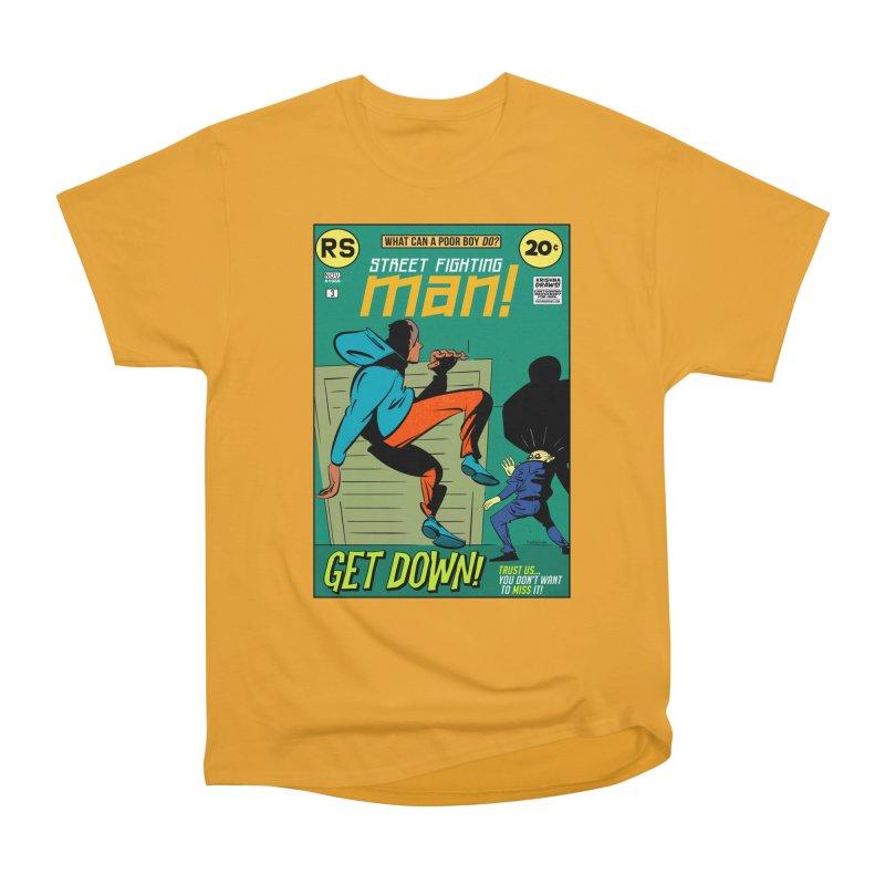 Street Fighting Man Men's Heavyweight T-Shirt by Krishna Designs