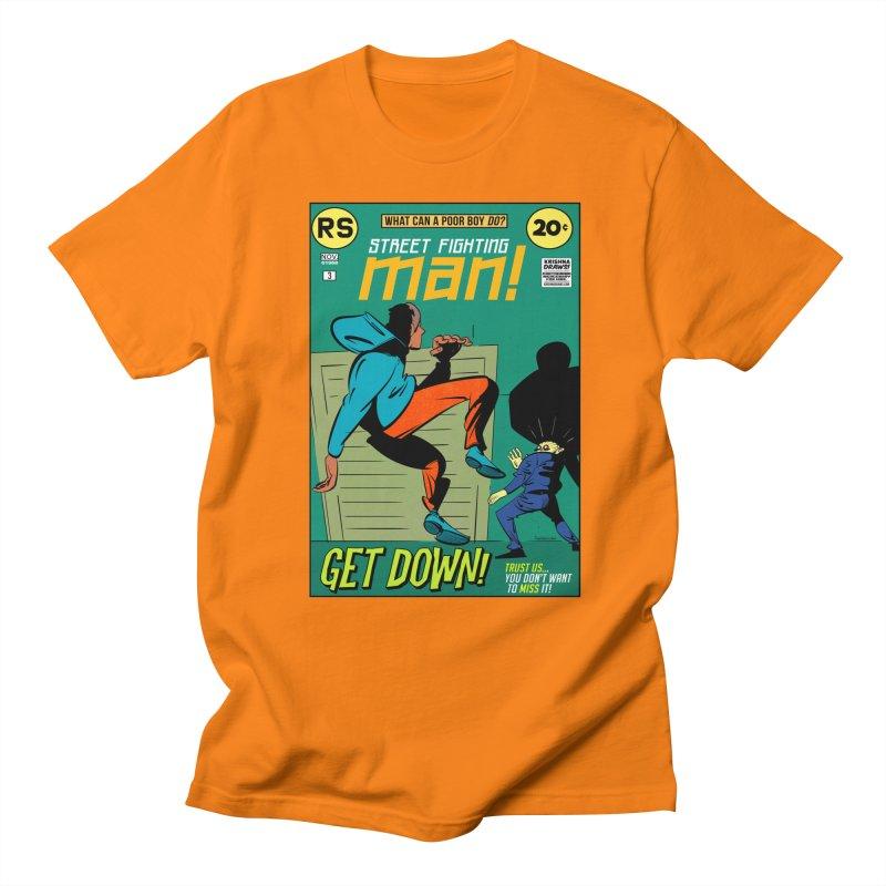 Street Fighting Man Men's T-Shirt by Krishna Designs