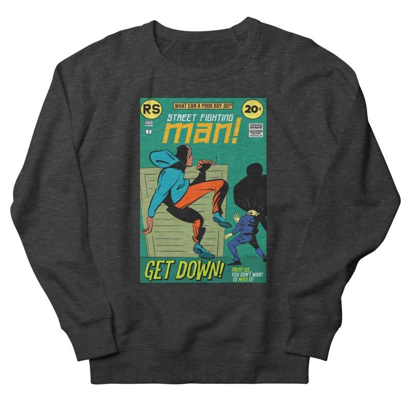 Street Fighting Man Women's French Terry Sweatshirt by Krishna Designs