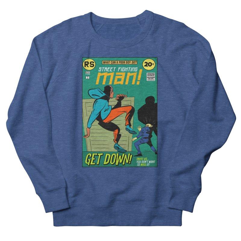 Street Fighting Man Men's Sweatshirt by Krishna Designs