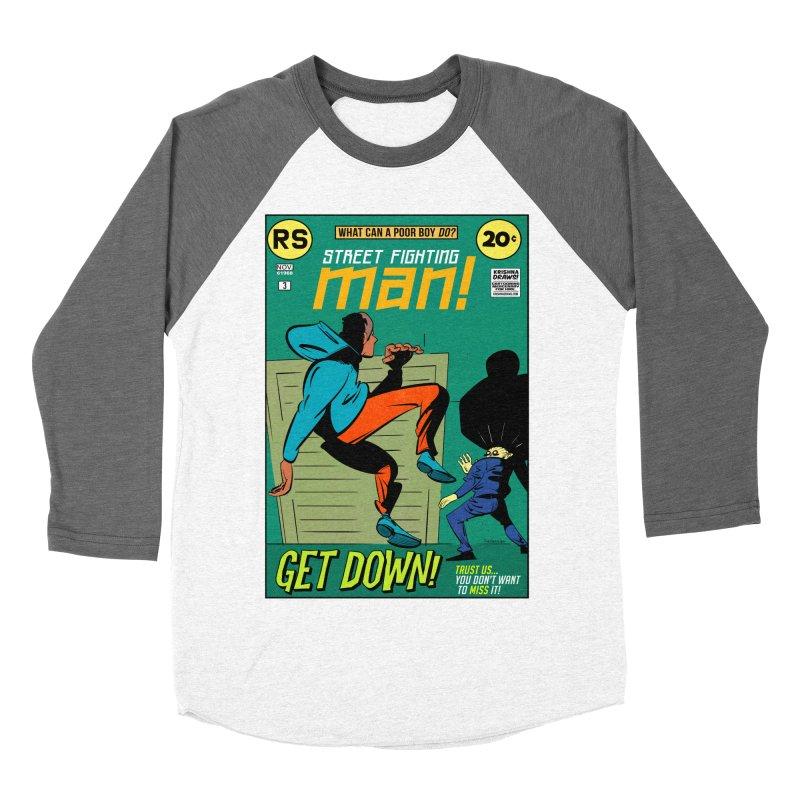 Street Fighting Man Women's Longsleeve T-Shirt by Krishna Designs