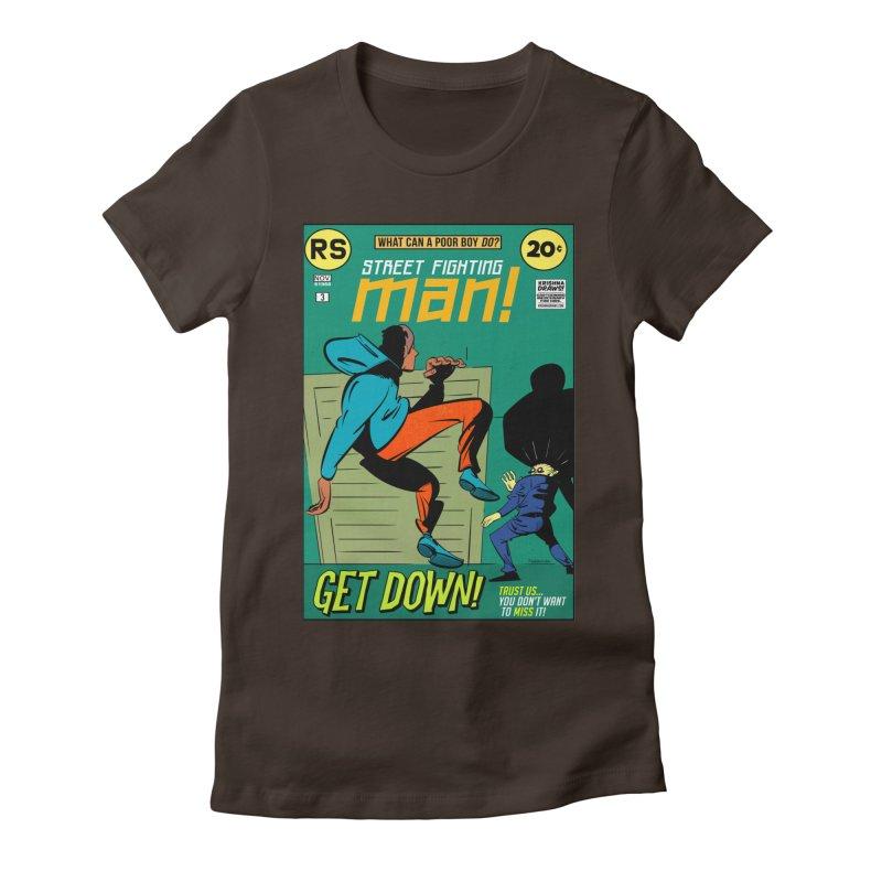Street Fighting Man Women's T-Shirt by Krishna Designs