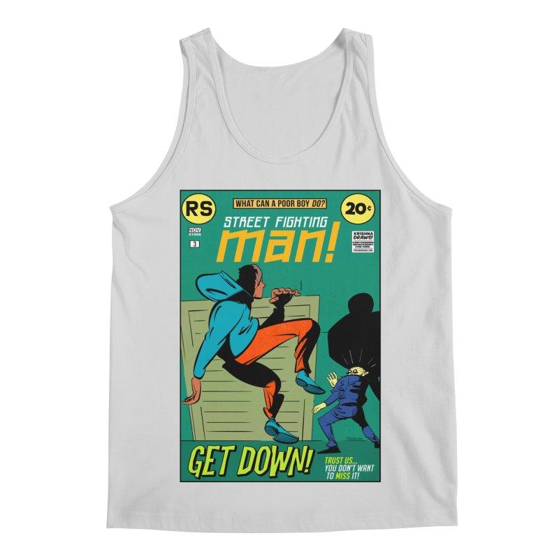 Street Fighting Man Men's Regular Tank by Krishna Designs