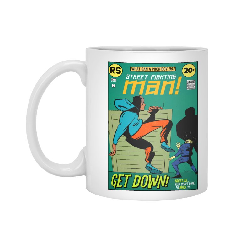 Street Fighting Man Accessories Standard Mug by Krishna Designs