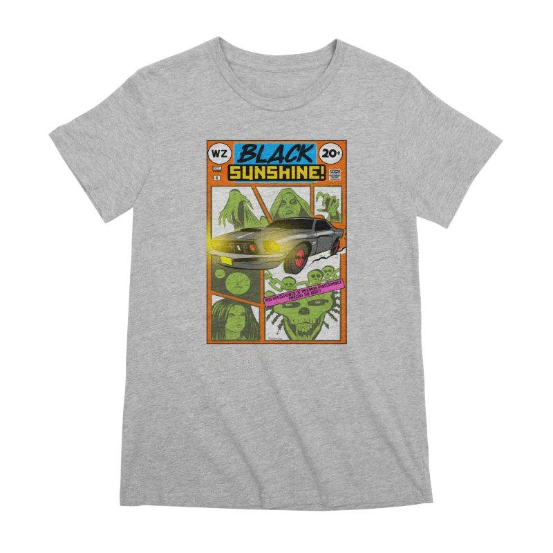 Black Sunshine Women's Premium T-Shirt by Krishna Designs