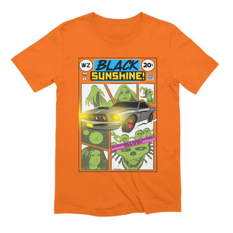 Black Sunshine Men's Extra Soft T-Shirt by Krishna Designs