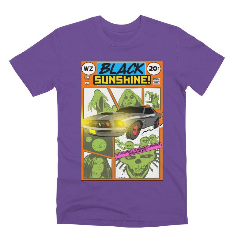 Black Sunshine Men's Premium T-Shirt by Krishna Designs