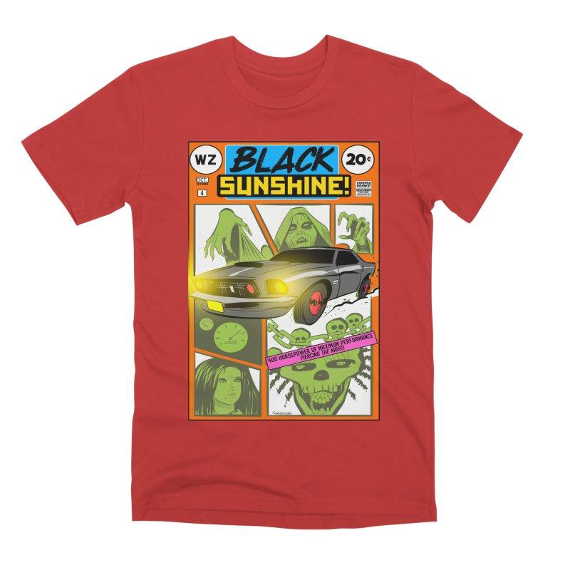 Black Sunshine Men's T-Shirt by Krishna Designs