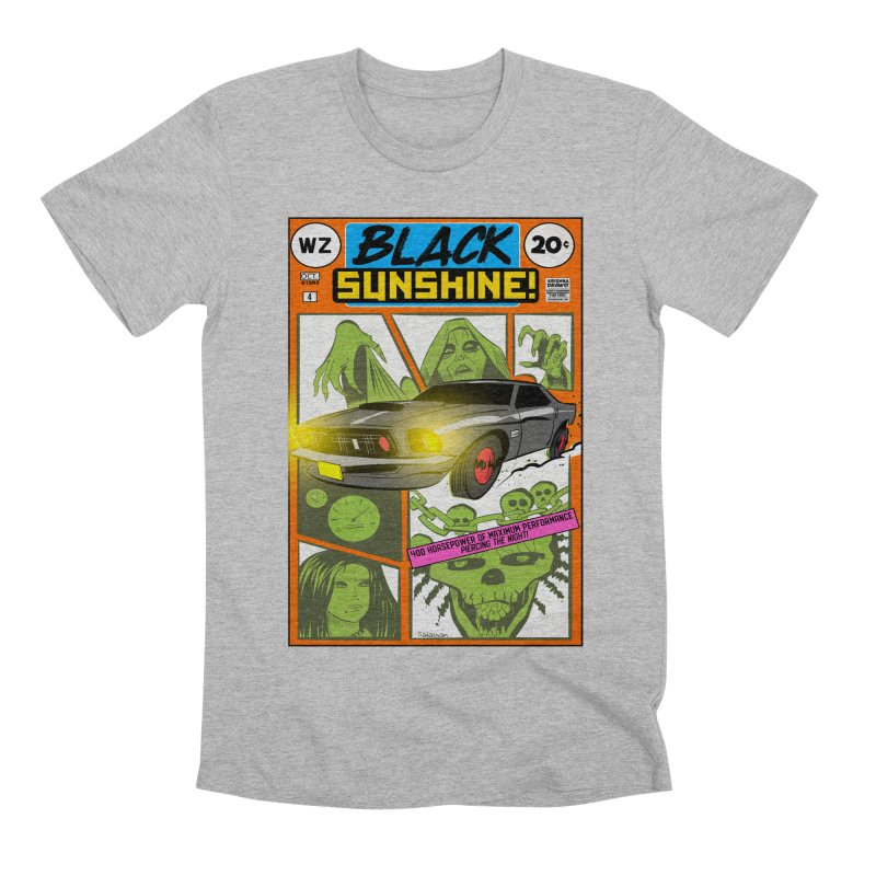 Black Sunshine Men's T-Shirt by Krishna Designs