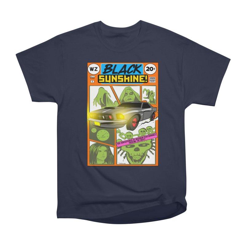 Black Sunshine Women's Heavyweight Unisex T-Shirt by Krishna Designs
