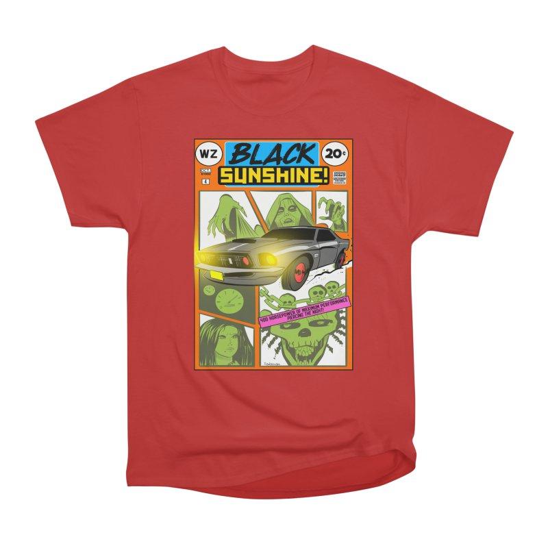 Black Sunshine Men's Heavyweight T-Shirt by Krishna Designs