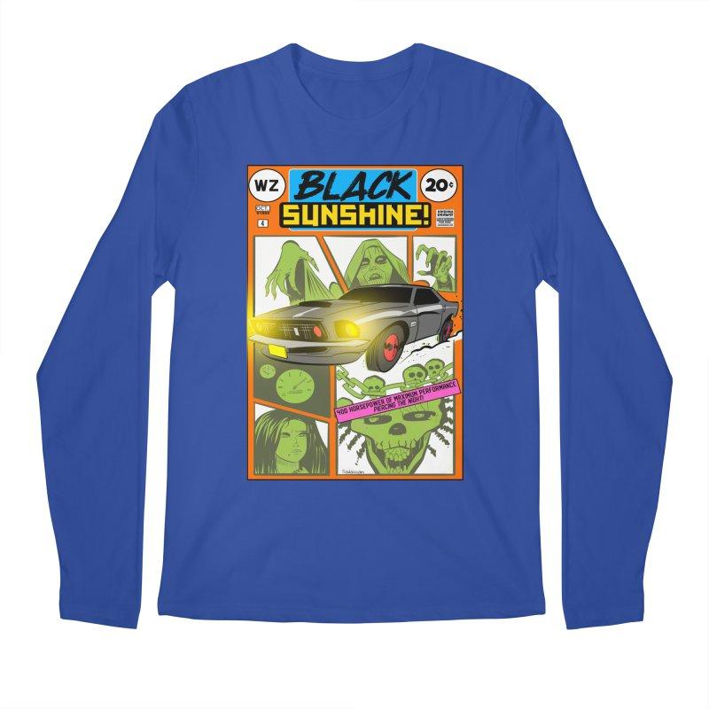 Black Sunshine Men's Regular Longsleeve T-Shirt by Krishna Designs