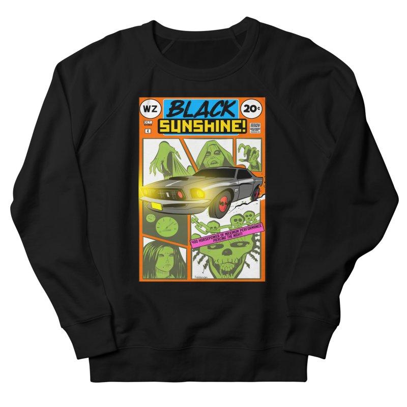 Black Sunshine Women's French Terry Sweatshirt by Krishna Designs