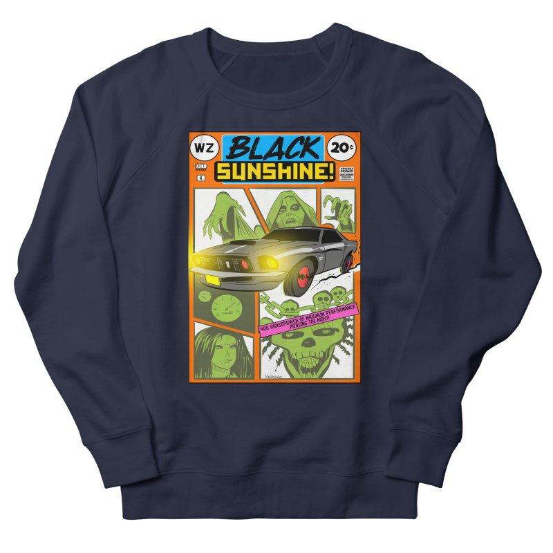 Black Sunshine Women's Sweatshirt by Krishna Designs