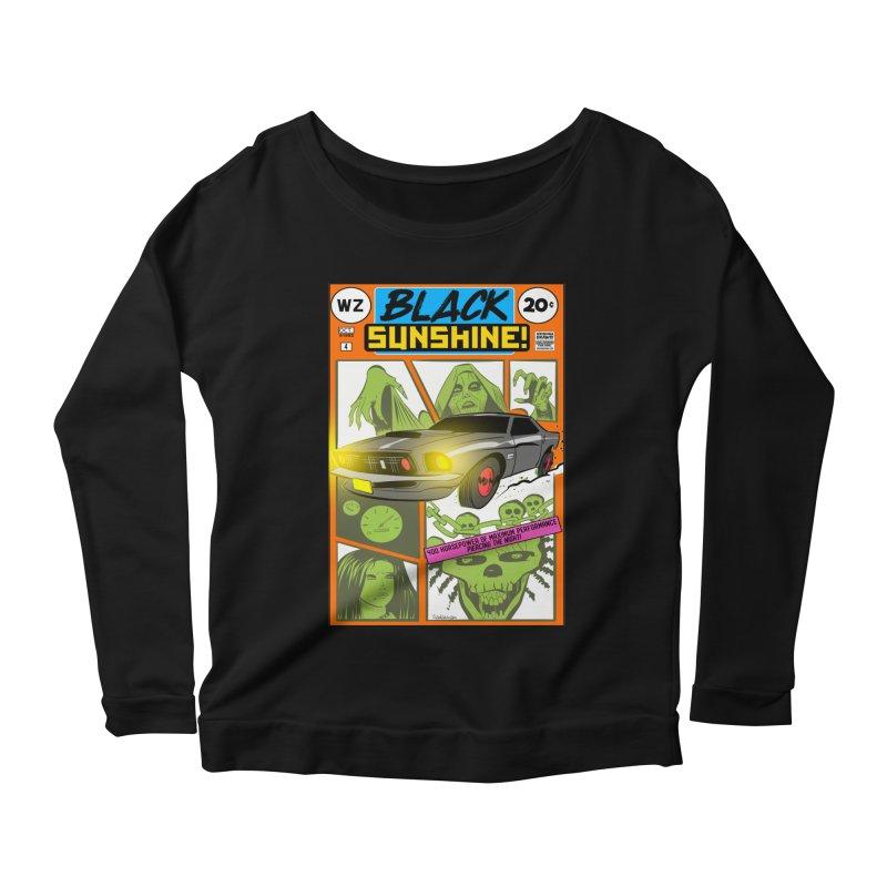 Black Sunshine Women's Longsleeve T-Shirt by Krishna Designs