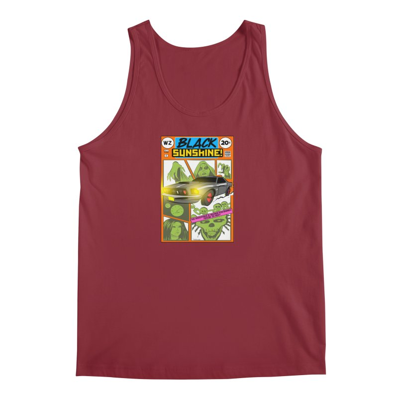 Black Sunshine Men's Tank by Krishna Designs