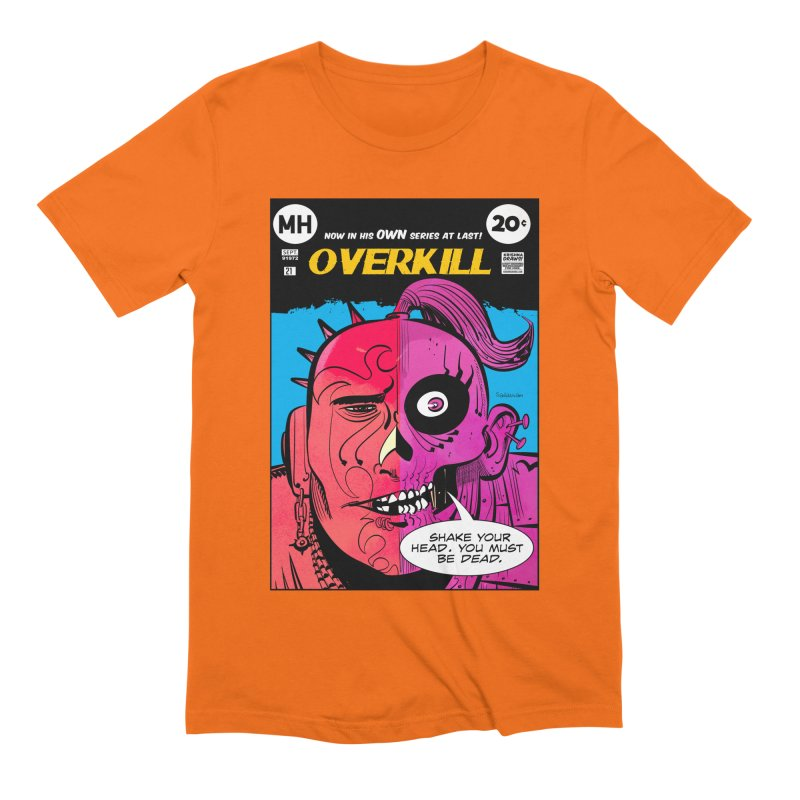Overkill Men's Extra Soft T-Shirt by Krishna Designs