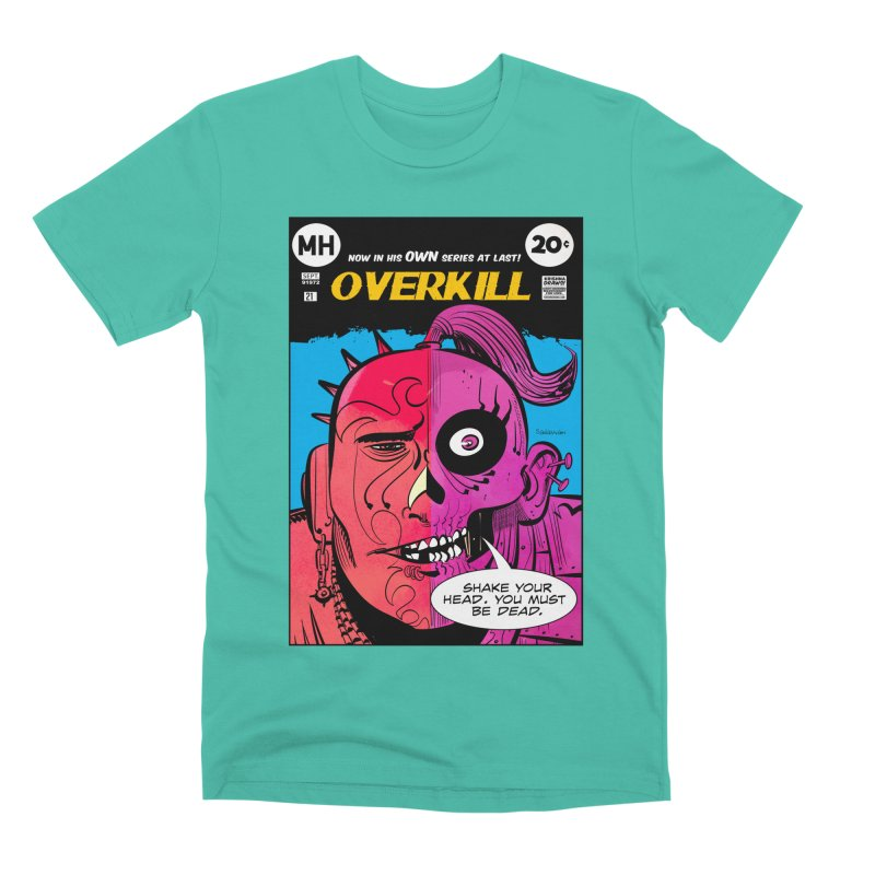 Overkill Men's Premium T-Shirt by Krishna Designs