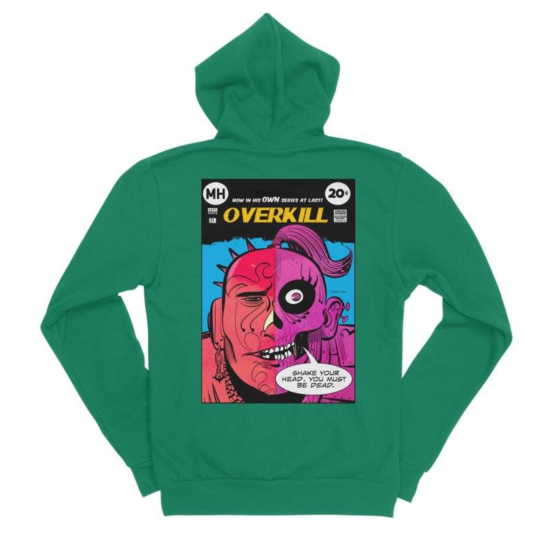 Overkill Women's Sponge Fleece Zip-Up Hoody by Krishna Designs