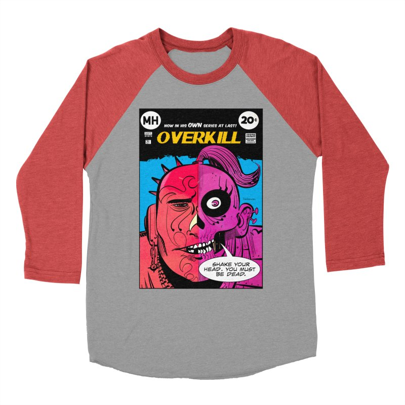 Overkill Men's Longsleeve T-Shirt by Krishna Designs