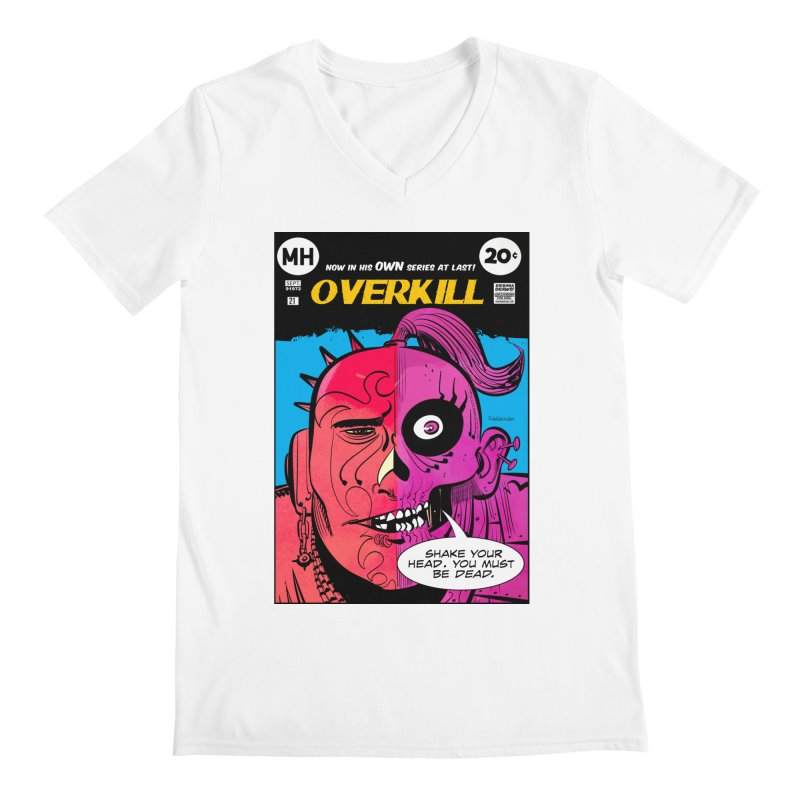Overkill Men's V-Neck by Krishna Designs