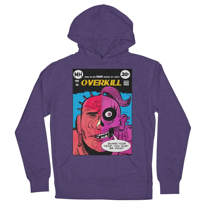 Overkill Men's Pullover Hoody by Krishna Designs
