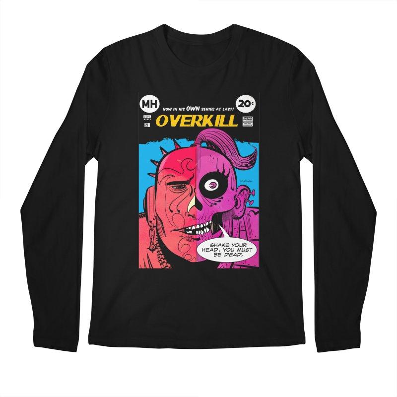 Overkill Men's Regular Longsleeve T-Shirt by Krishna Designs