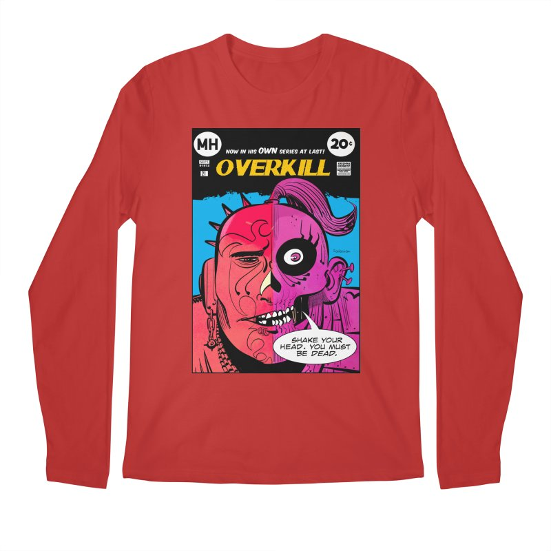 Overkill Men's Regular Longsleeve T-Shirt by Krishna Designs