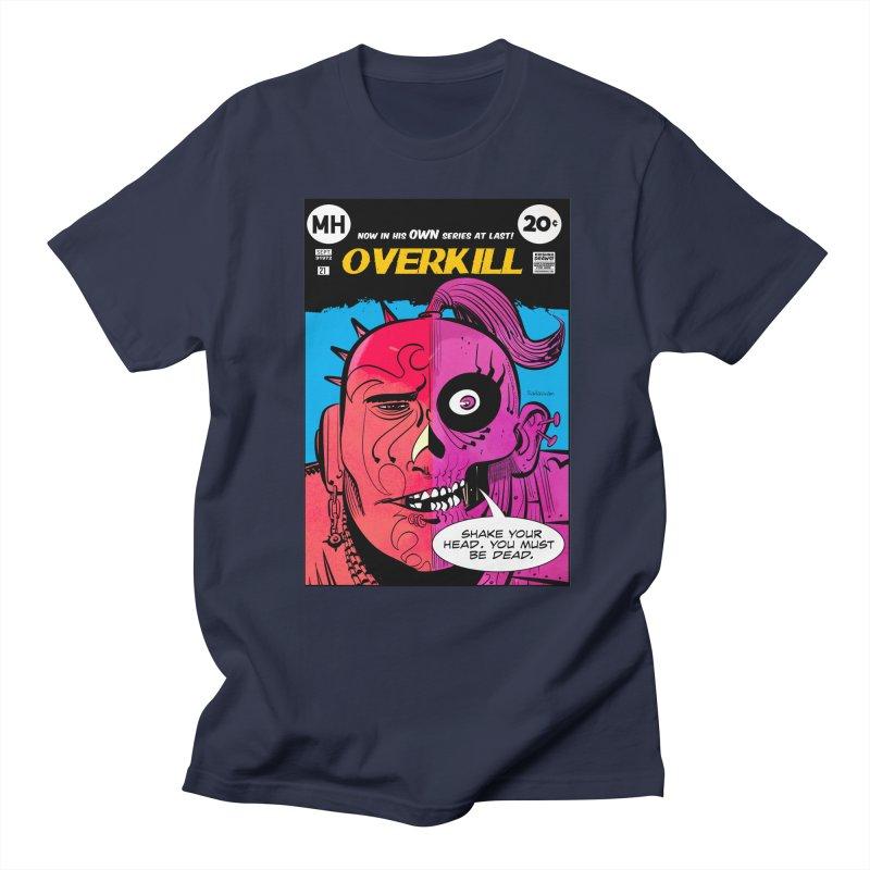Overkill Men's Regular T-Shirt by Krishna Designs
