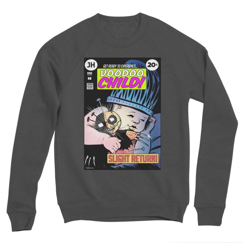 Voodoo Child Men's Sponge Fleece Sweatshirt by Krishna Designs