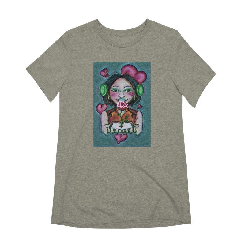 Love Women's Extra Soft T-Shirt by peacewild's Artist Shop