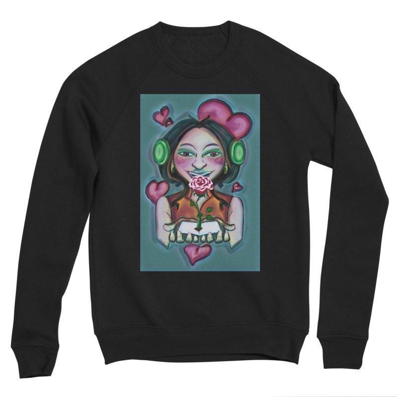 Love Women's Sponge Fleece Sweatshirt by peacewild's Artist Shop