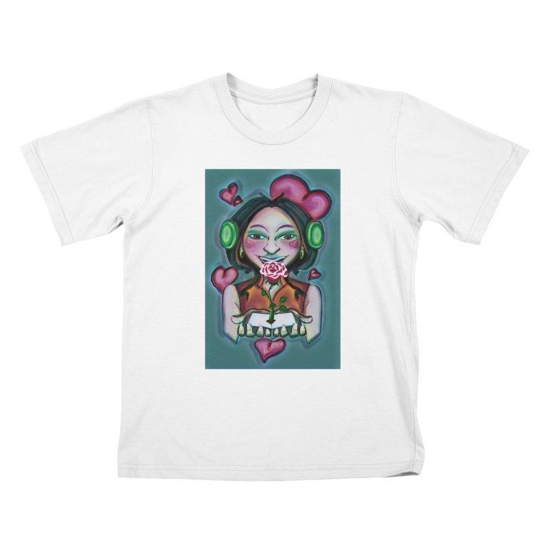 Love Kids T-Shirt by peacewild's Artist Shop