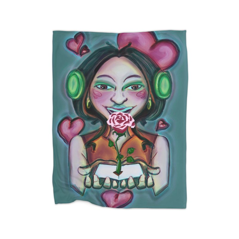 Love Home Blanket by peacewild's Artist Shop