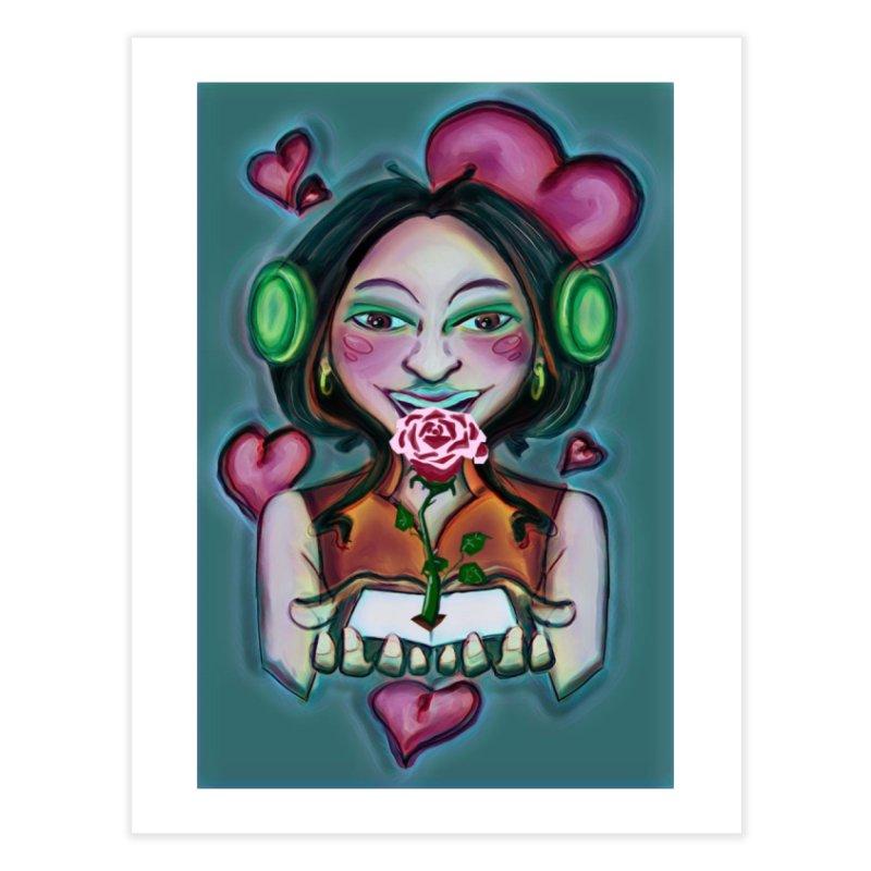 Love Home Fine Art Print by peacewild's Artist Shop