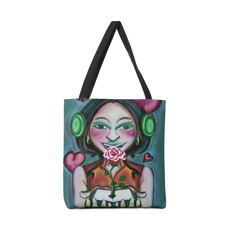 Love Accessories Tote Bag Bag by peacewild's Artist Shop