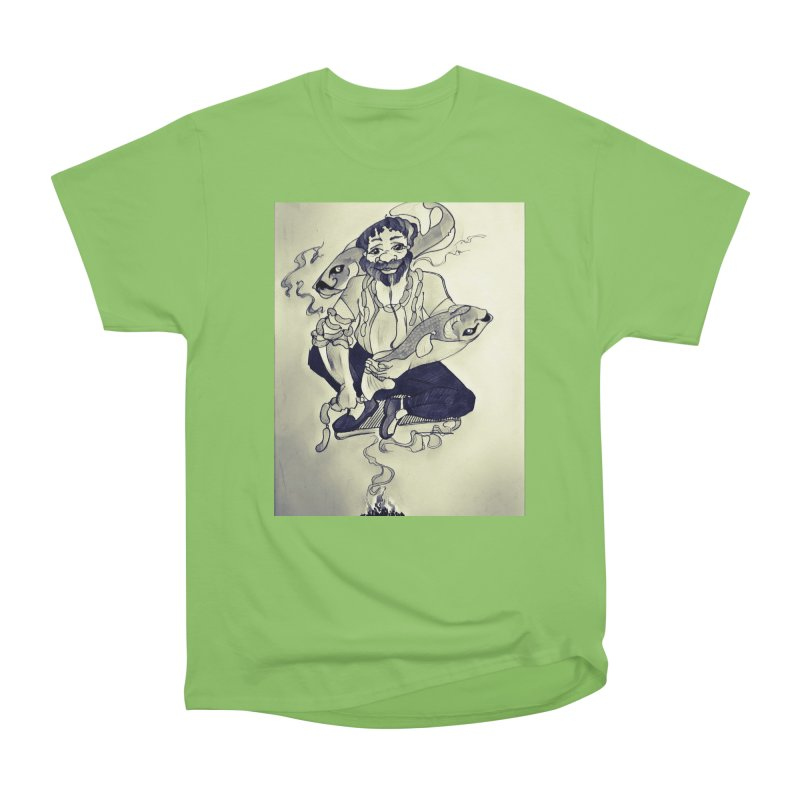 Smoker King Men's Heavyweight T-Shirt by peacewild's Artist Shop