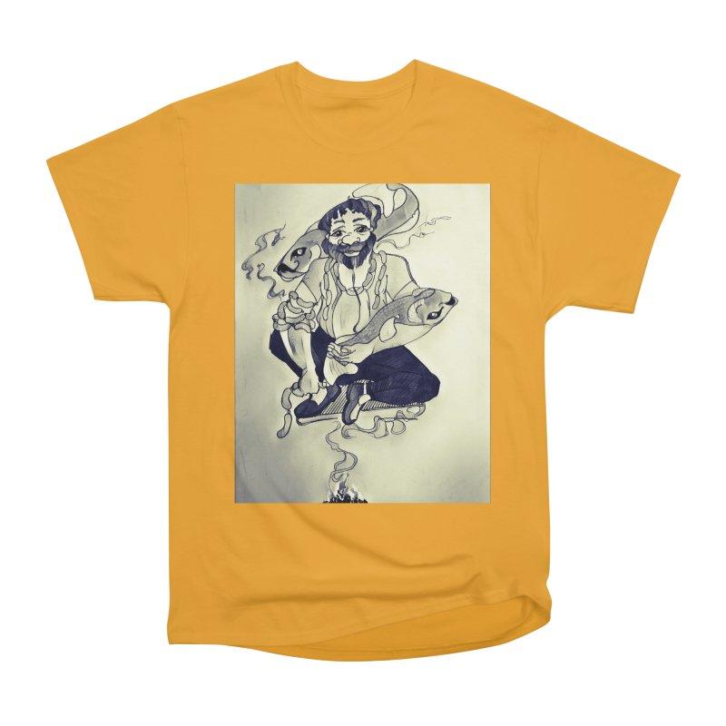 Smoker King Men's Heavyweight T-Shirt by peacewild's Artist Shop