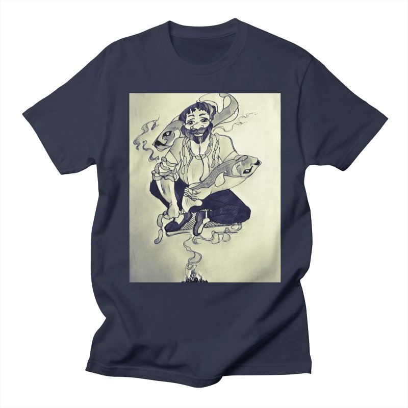 Smoker King Men's Regular T-Shirt by peacewild's Artist Shop