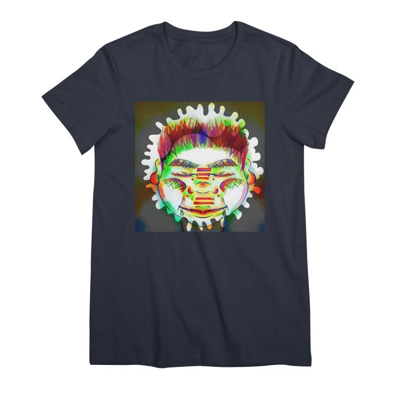 Peace&Color Women's Premium T-Shirt by peacewild's Artist Shop
