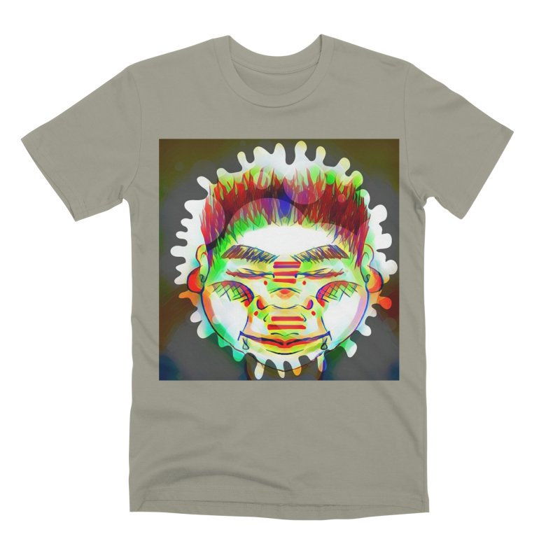 Peace&Color Men's Premium T-Shirt by peacewild's Artist Shop