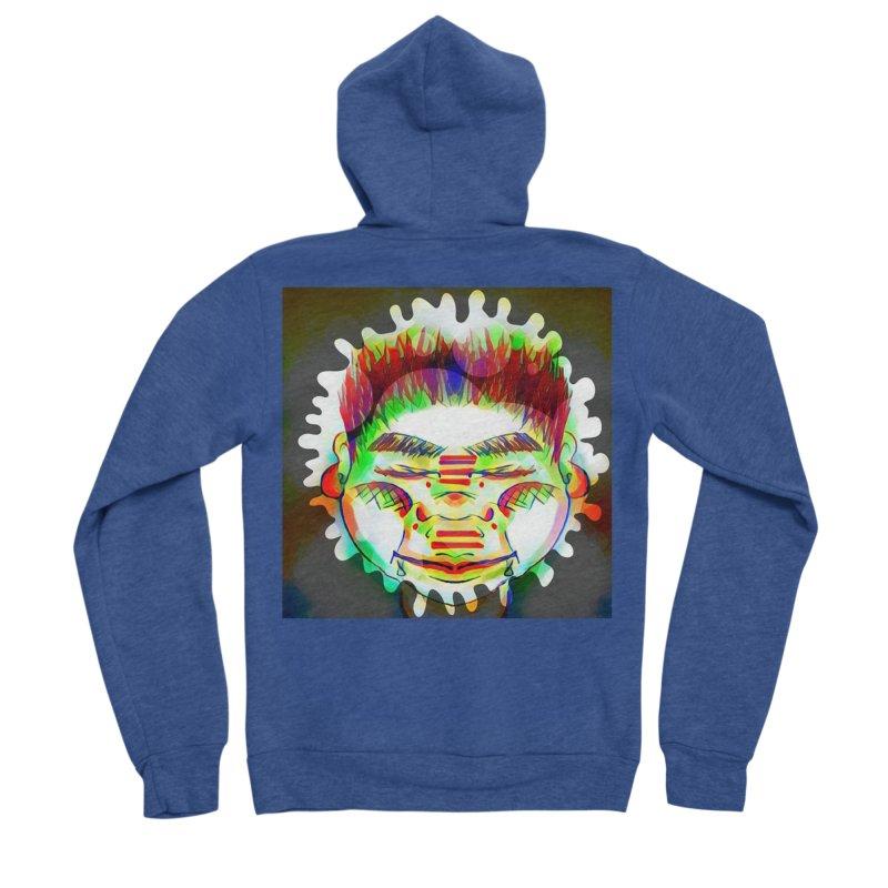 Peace&Color Women's Sponge Fleece Zip-Up Hoody by peacewild's Artist Shop