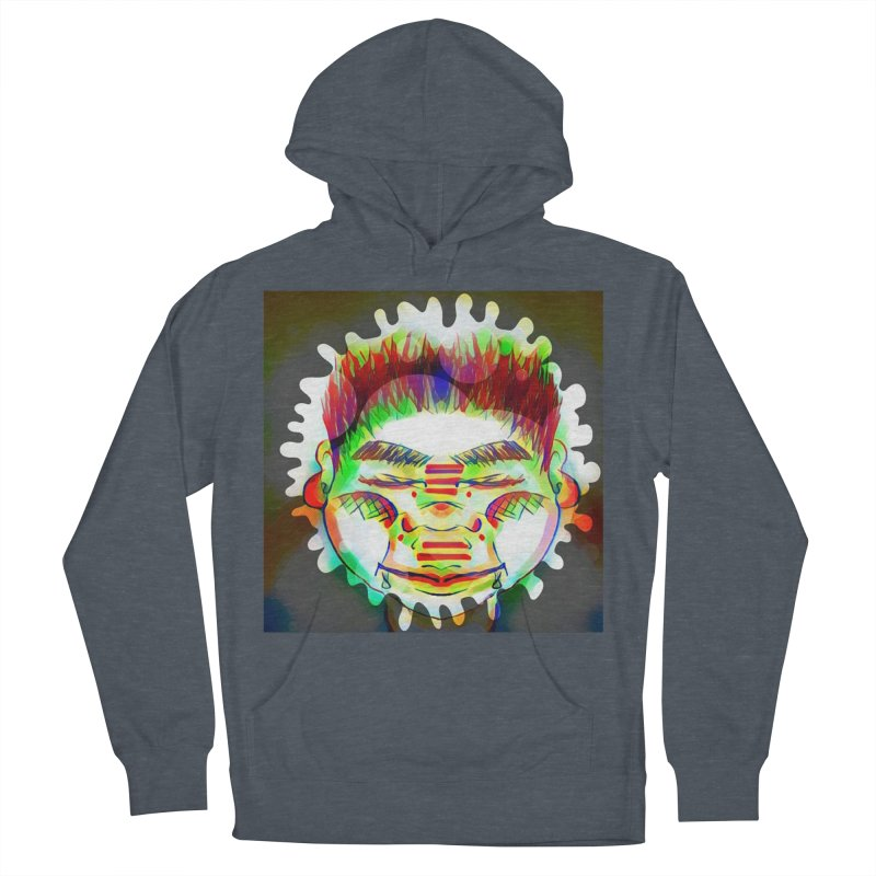 Peace&Color Women's French Terry Pullover Hoody by peacewild's Artist Shop